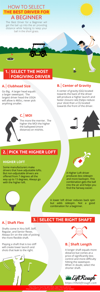 How to Select the Best Driver for Beginners Infographic
