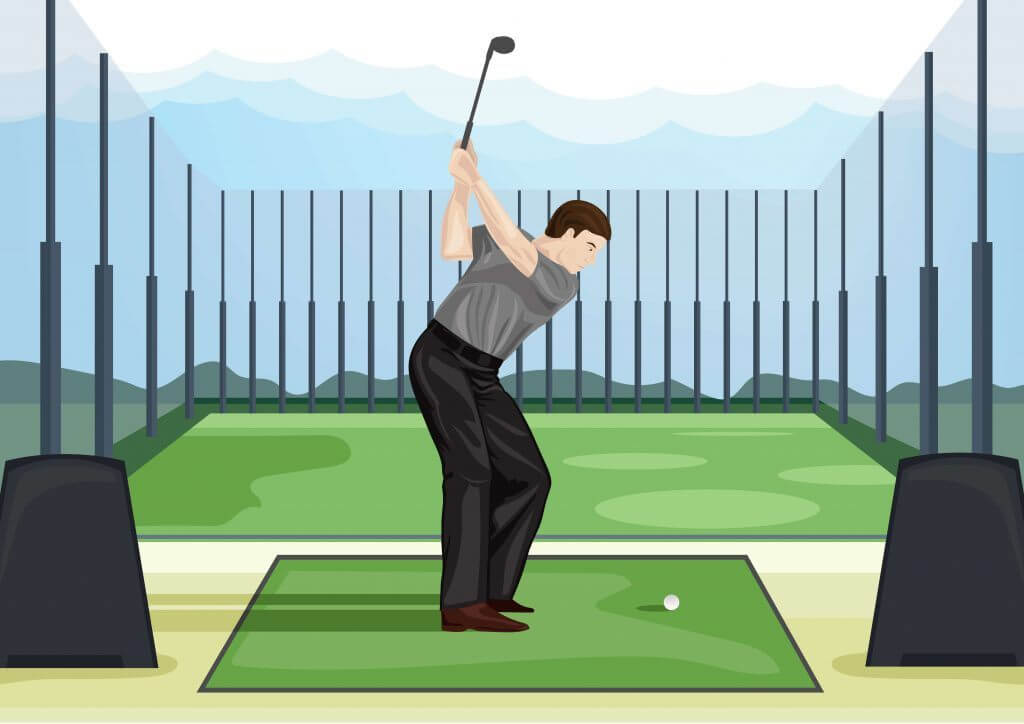 Will Hitting off Mats Hurt My Game? - The Left Rough