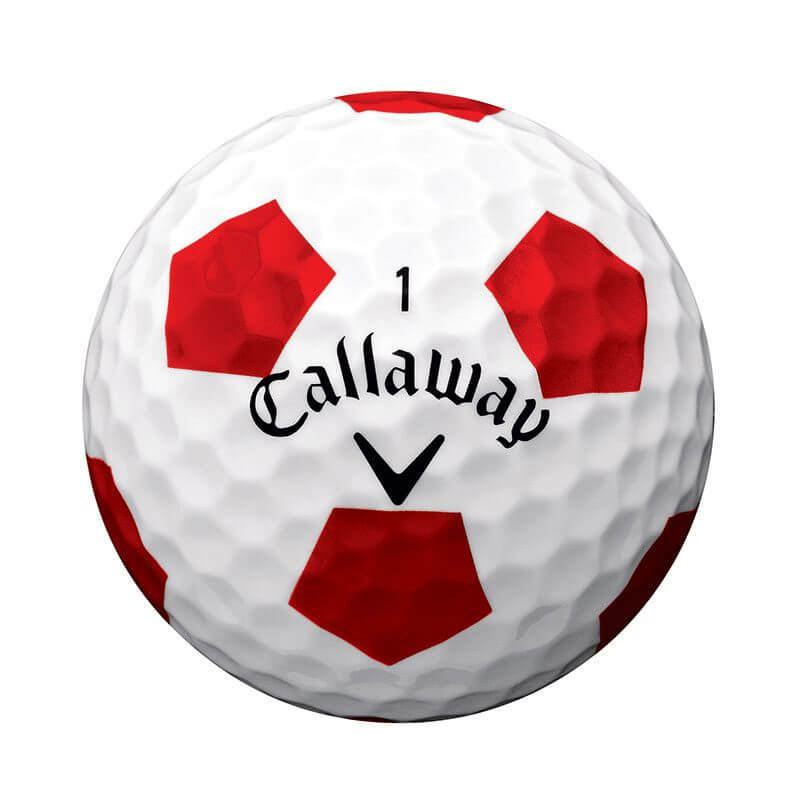 Callaway Chrome Soft Truvis Golf Ball White Soccer Ball