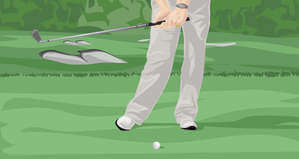 Proper Leg Action in the Golf Swing