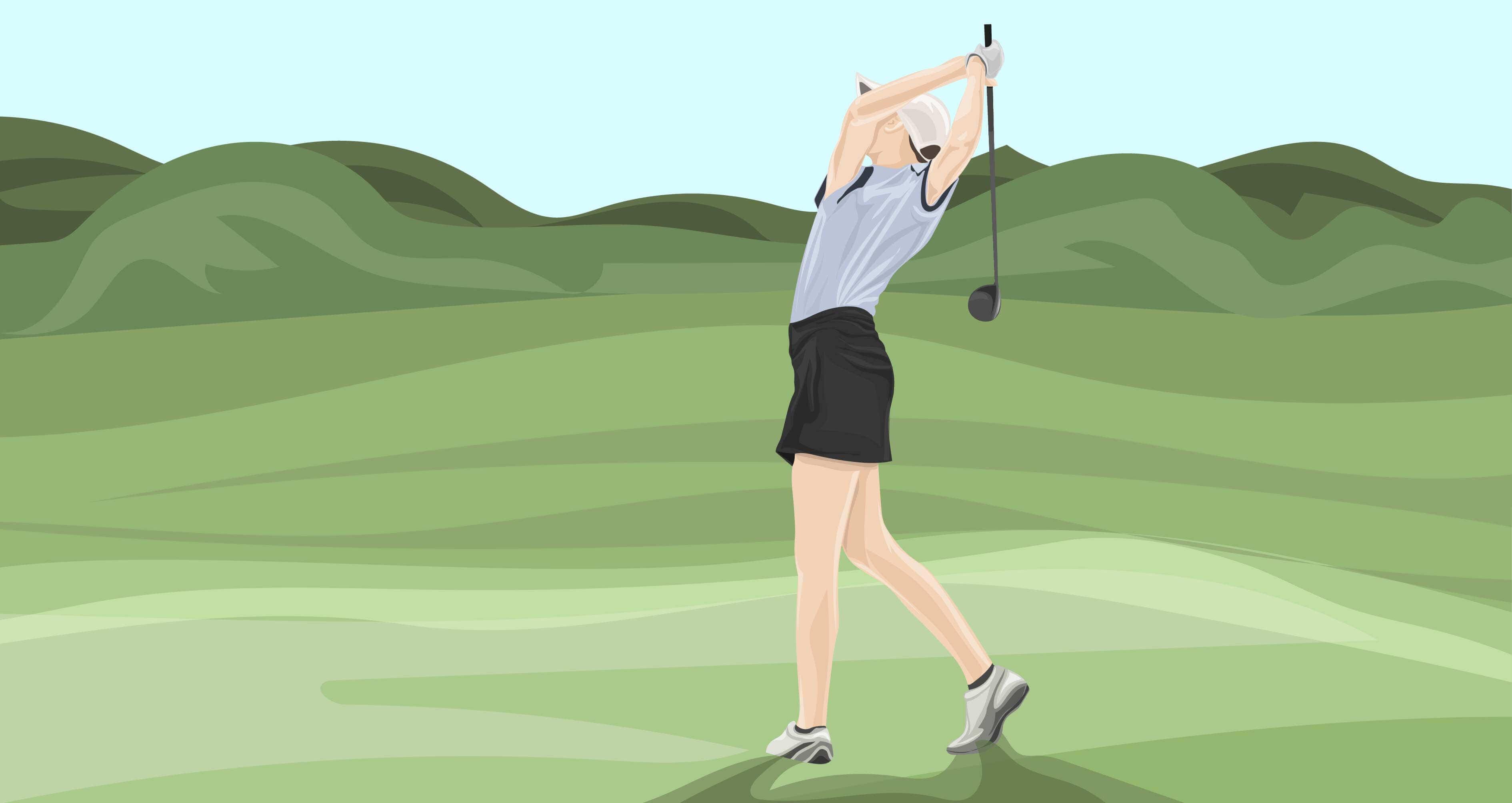 Golf Swing Final Exam: The Follow Through - The Left Rough