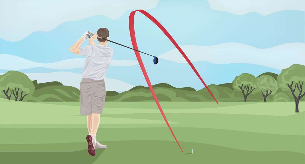 4 Easy Ways To Stop Slicing The Golf Ball The Left Rough
