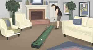 How Practice Golf at Home