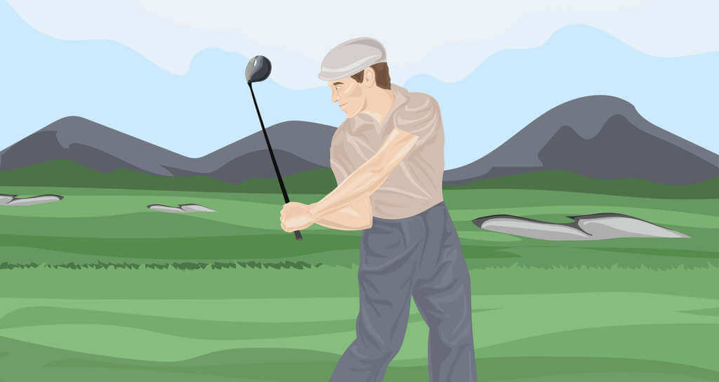 Shallow Golf Swing