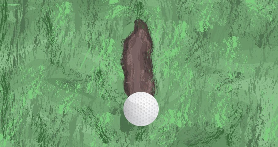 finding the bottom of your golf swing arc