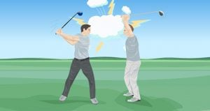 Golf Drils to Reduce Tension