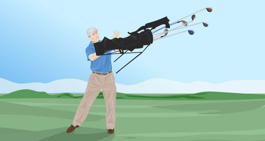 golf swing relaxation techniques