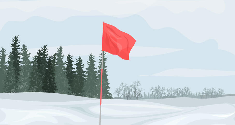 Snow Golfing