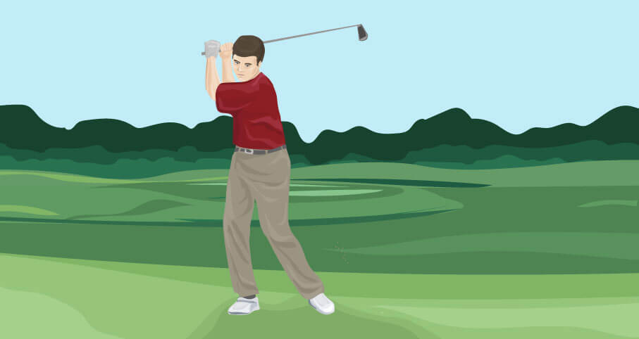 Better Backswing: Stop Swaying in the Golf Swing - The Left