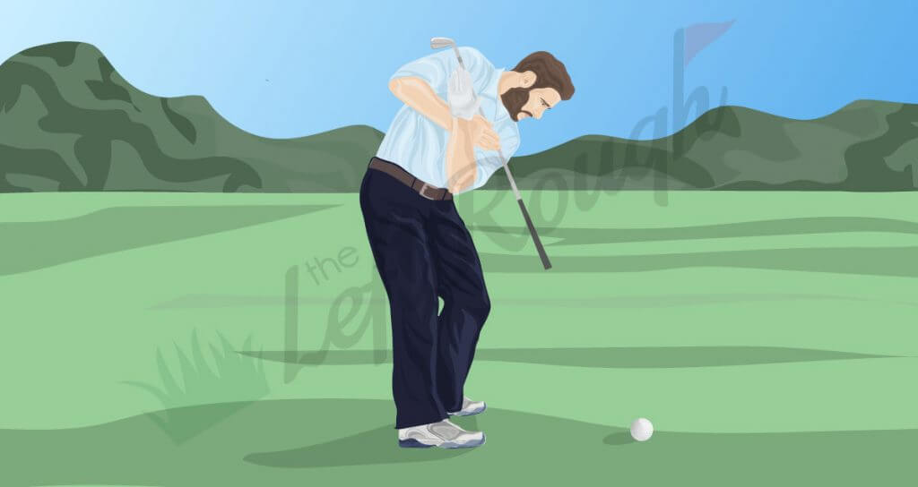 More Distance: Improve your Shoulder Turn - The Left Rough