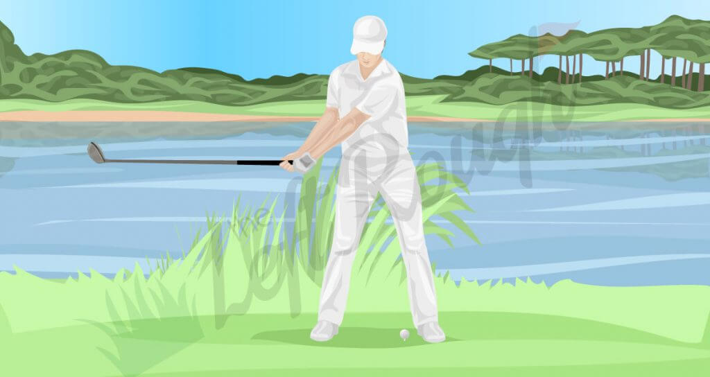 Golf Backswing Sequence