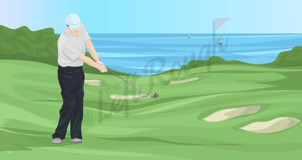 Bump and Run Golf Shot