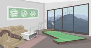 Golf Indoor Putting Mat