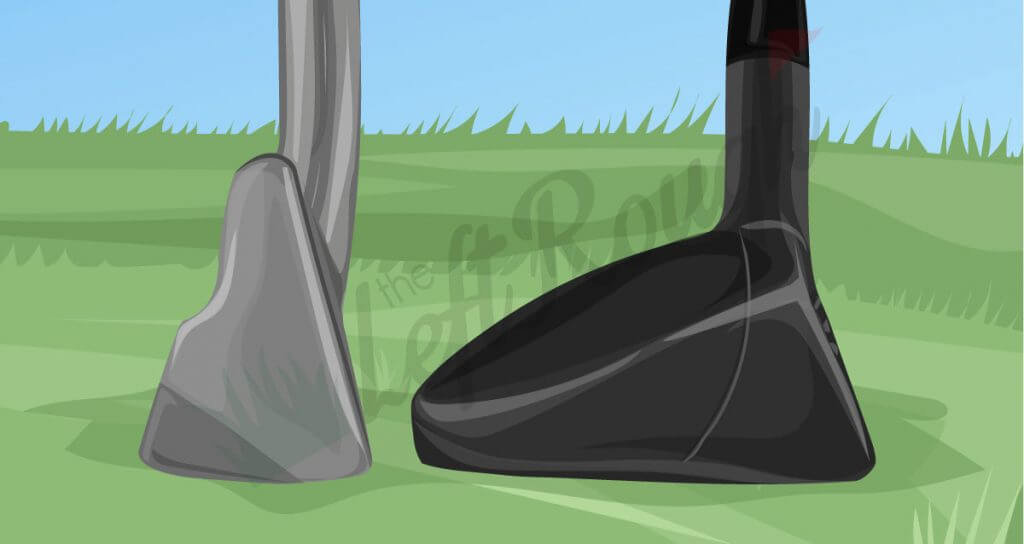 Golf Driving Iron versus Hybrid