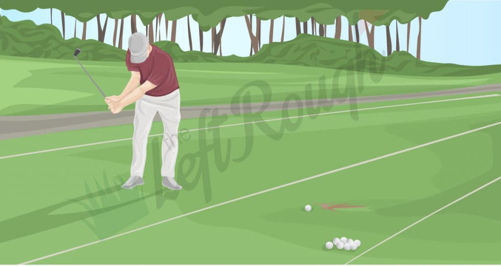 how to form golf pre shot routine