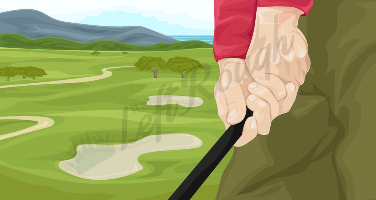 The First Fundamental How To Grip A Golf Club The Left Rough