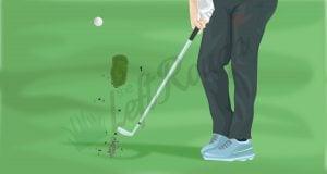 Golf Divot