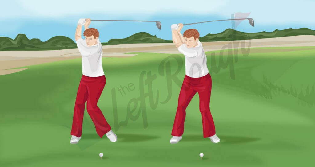 Transition from Backswing to Downswing Golf