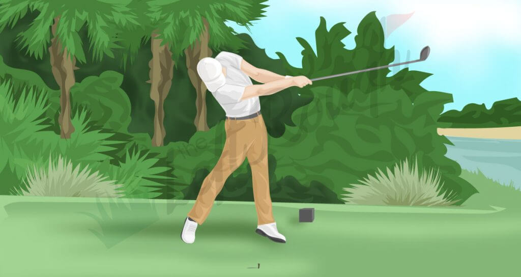 How to Use the Ground to Gain Power in Golf