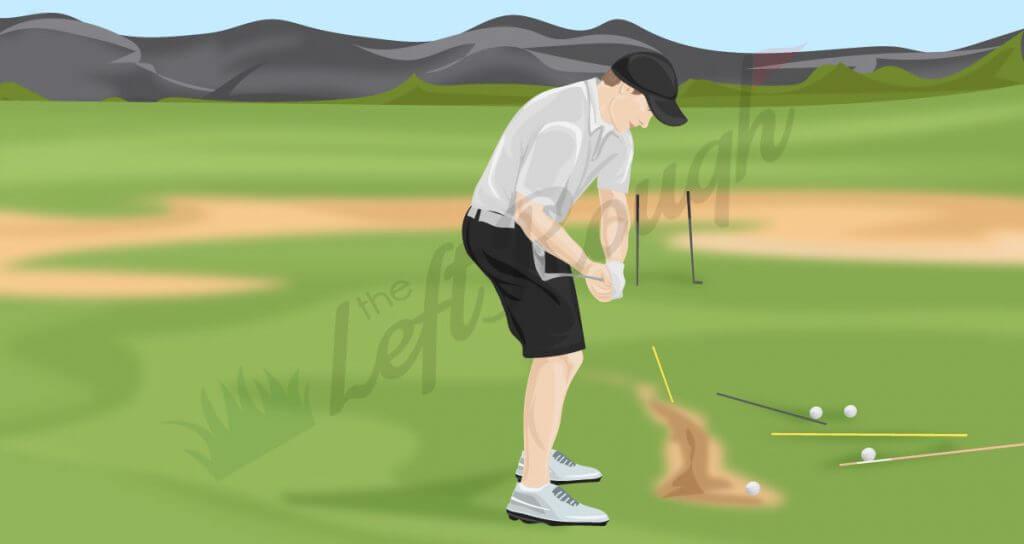 Hit Inside of Golf Ball