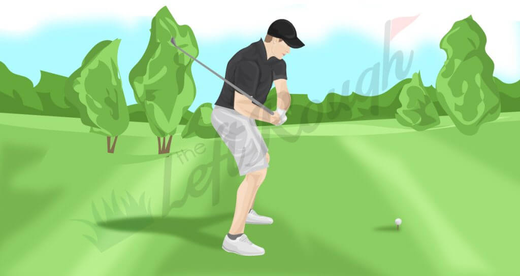 Flat Golf Swing