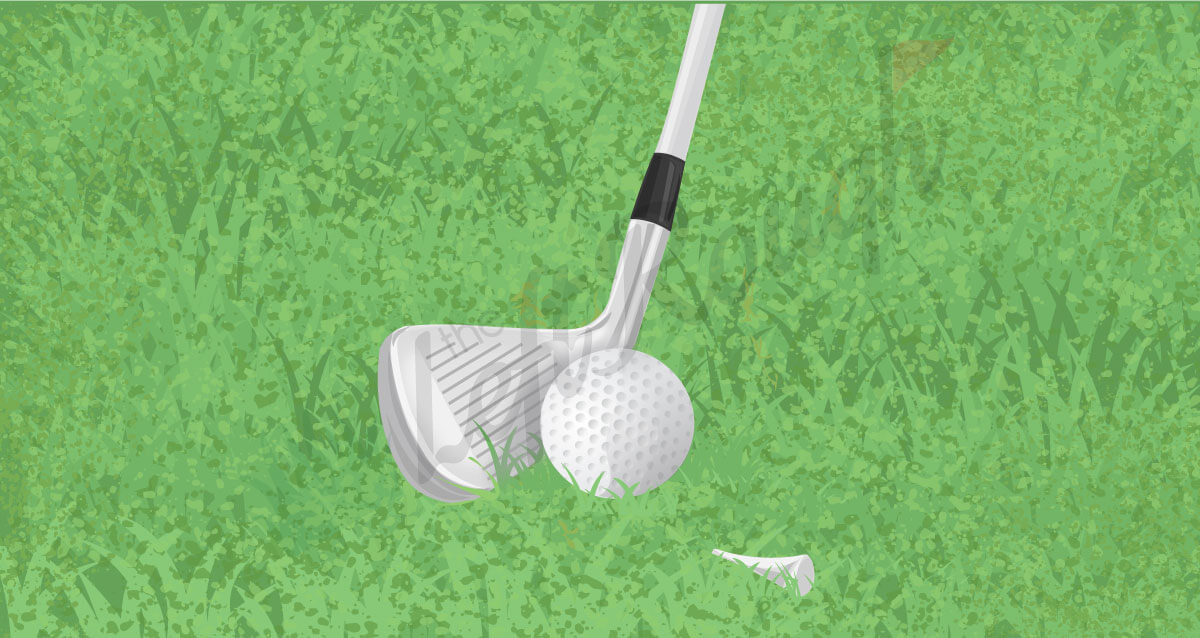 Golf Tee Drill