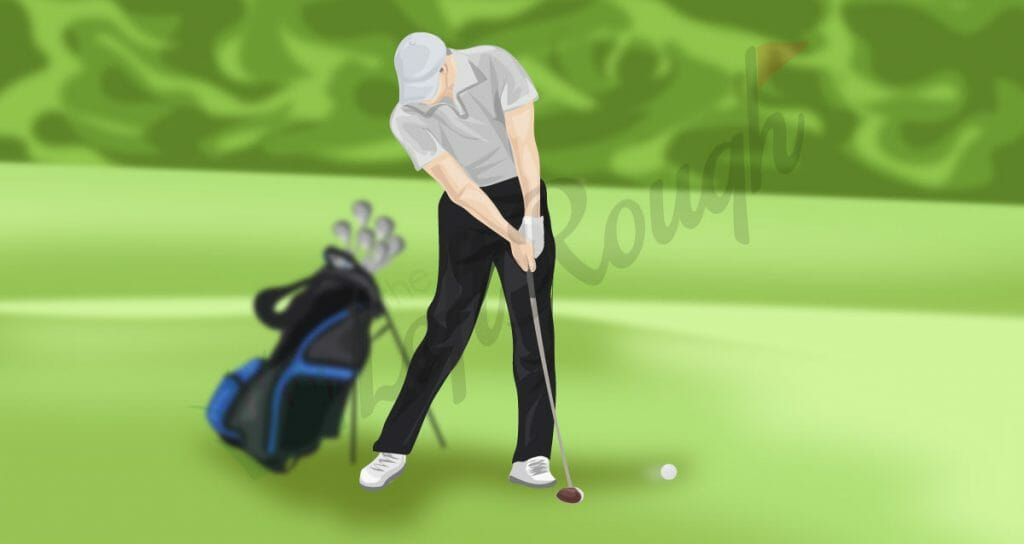 Golf Swing Weight Transfer at Impact