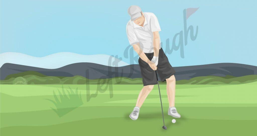 Weight Transfer Golf Falling Back