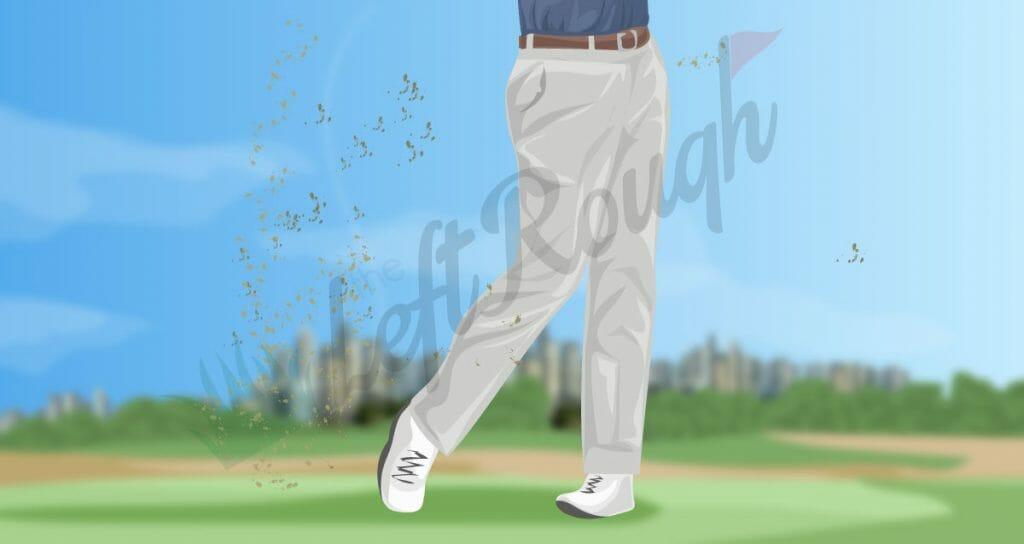 Golf Swing Weight Transfer Follow Through