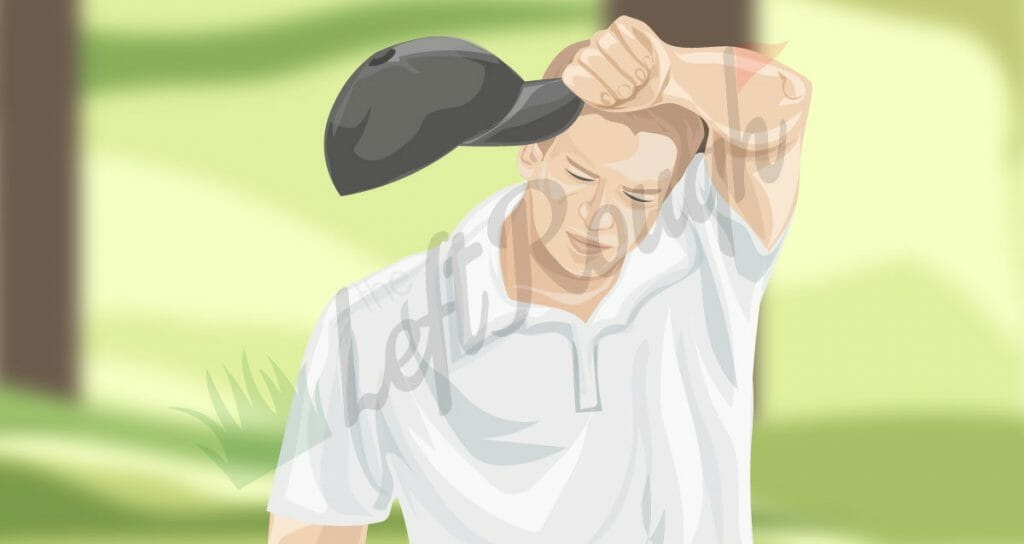 Golf with Sweaty Hands