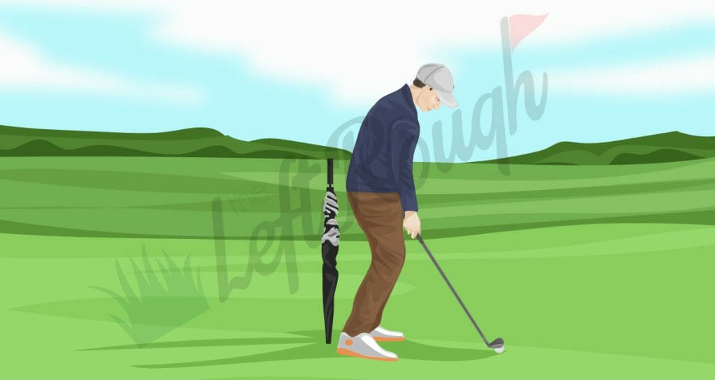 Early Extension Golf Drill