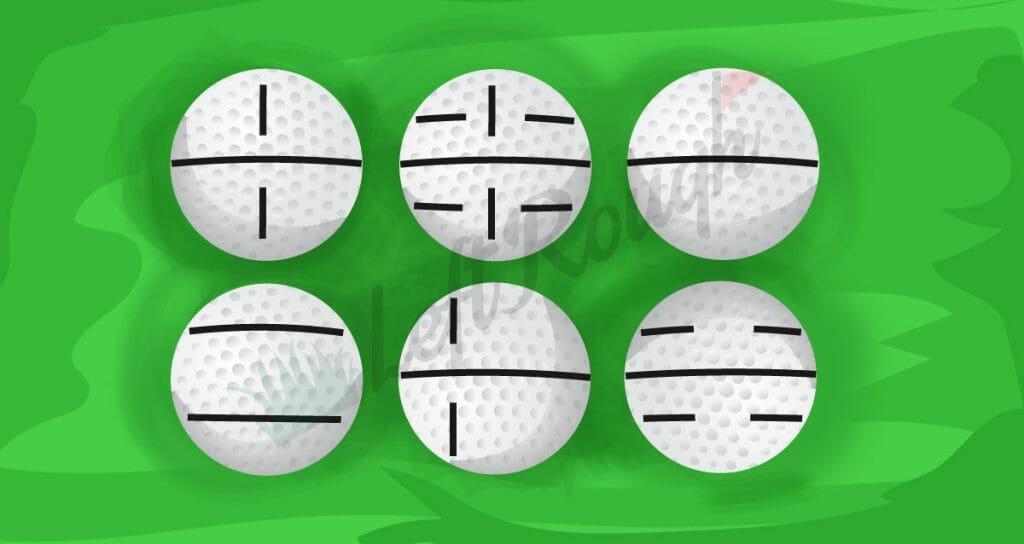 Golfball Marking Pattern
