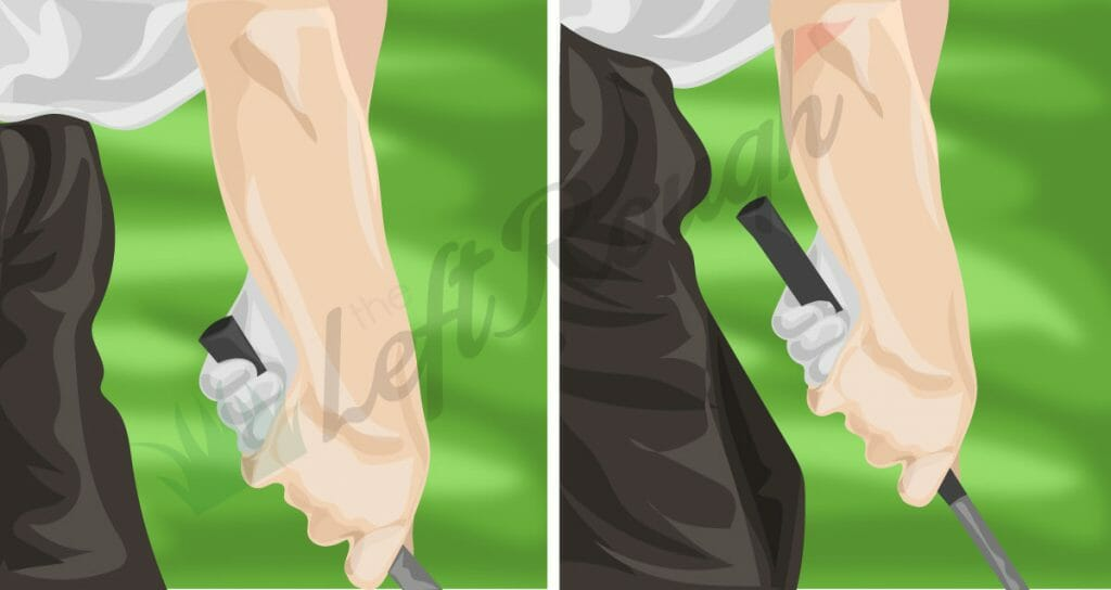 How to Choke Up in Golf