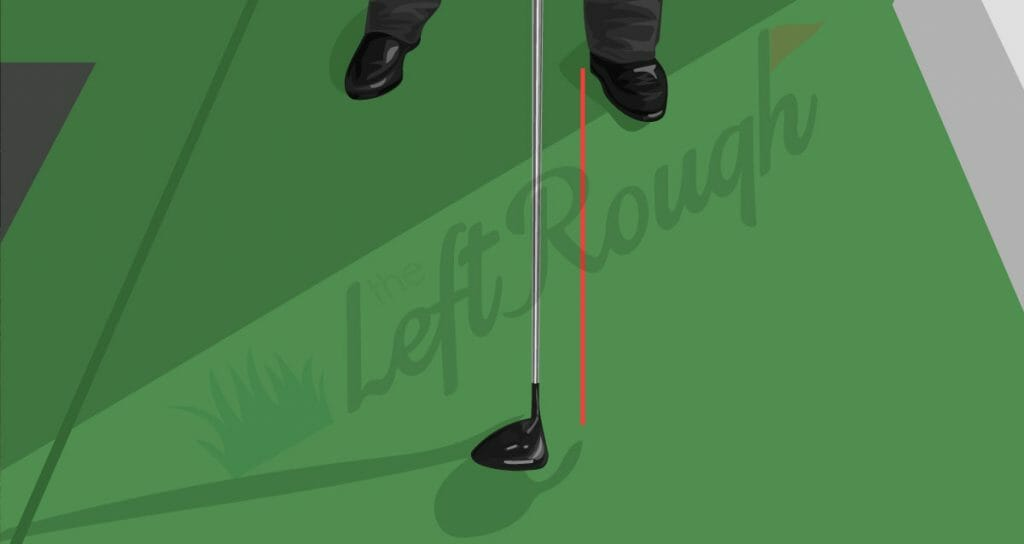 Ball Position to Hit a Draw