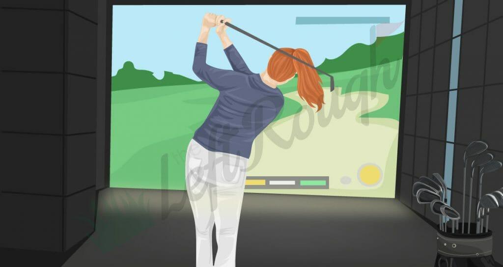 At Home Golf Simulator