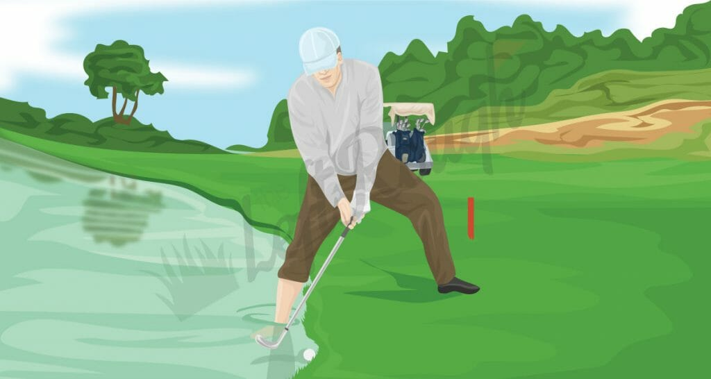 How to Hit a Golf Shot out of Water