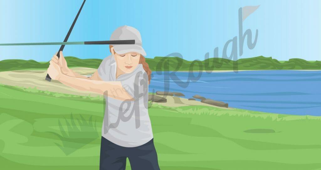 Drill for Proper Head Movement in Golf Swing