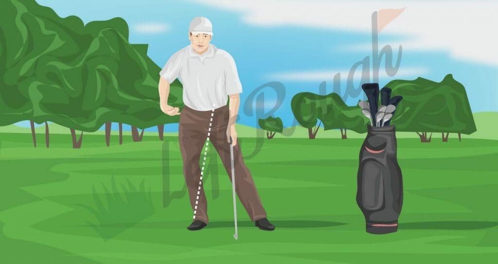 Improper Head Movement in Golf Swing