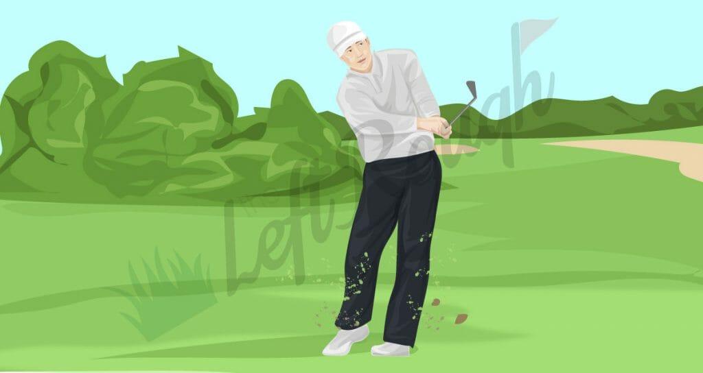 Breaking 100 in Golf
