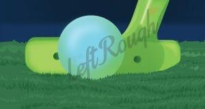 Playing Golf at Night